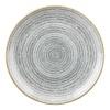 Churchill Studio Prints Homespun Stone Grey Coupe Plate 165mm thumbnail