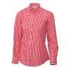 Uniform Works Womens Gingham Shirt Red thumbnail