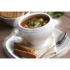 Olympia Whiteware Lion Head Soup Bowls 475ml thumbnail