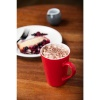 Olympia Cafe Latte Cups Red 340ml 12oz thumbnail