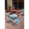 Bolero Seaside Blue Pavement Style Steel Table 595mm thumbnail