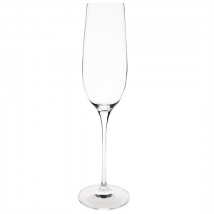 Olympia Claro One Piece Crystal Champagne Flute 260ml