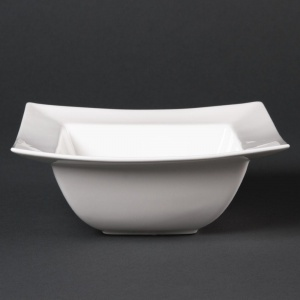 Lumina Wide Rimmed Square Bowls 165mm