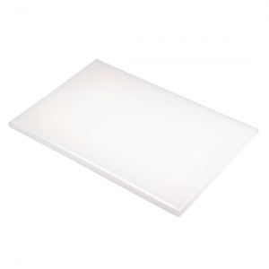 Hygiplas Extra Large High Density White Chopping Board