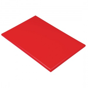 Hygiplas Extra Large High Density Red Chopping Board
