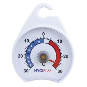 Hygiplas Fridge Freezer Dial Thermometer