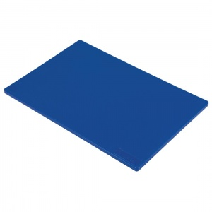 Hygiplas Standard Low Density Blue Chopping Board
