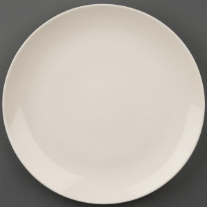 Olympia Ivory Round Coupe Plates 200mm