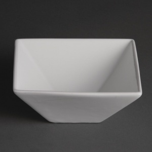 Olympia Whiteware Square Bowls 170mm