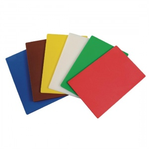 Hygiplas Colour Coded Chopping Mats Set 450mm