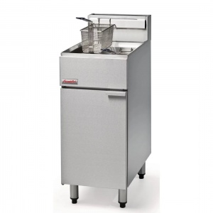 Fastfri Freestanding Single Tank Fryer FF18 Natural Gas