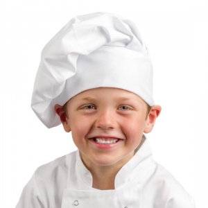 Whites Childrens Chef Hat White
