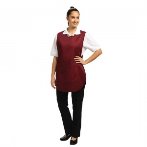 Tabard With Pocket Burgundy