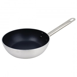 Vogue Non Stick Induction Flared Saute Pan 240mm