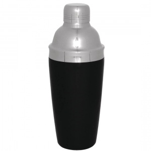 Olympia 3-Piece Cobbler Cocktail Shaker PVC Grip